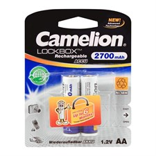 Camelion AA Rechargeable Batteries 2700 mAh