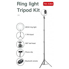 JMARY RING LIGHT Kit FM-536A 10 inch