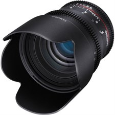 Samyang 50mm T1.5 VDSLR AS UMC Lens for Nikon F Mount