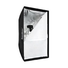 GODOX SB-UBW 60x90cm Foldable Softbox Rectangular Flash Strobe Umbrella Shelf
