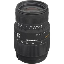 Sigma 70-300mm f/4-5.6 DG Autofocus Lens for Nikon F Mount