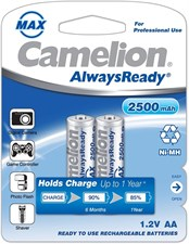 Camelion Rechargeable AA batteries 2500 mAh
