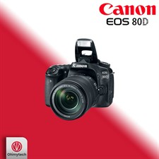 Canon EOS 80D Kit (EF-S 18-135 IS USM)