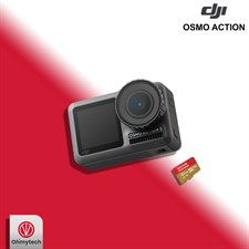 DJI Osmo Action 4K Camera with 32GB MicroSD Memory Card
