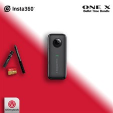 Insta360 One X + Selfie Stick Bundle + 64GB Card