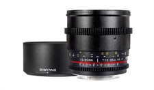 Samyang 85mm T1.5 Cine Lens for NIKON F Mount