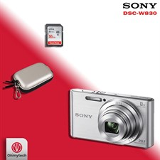 Sony W830 Compact Camera Combo Offer